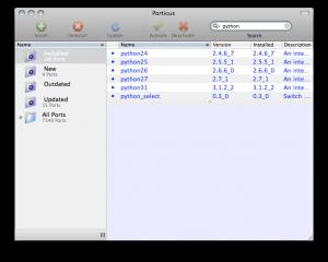 Installing Macports via Porticus